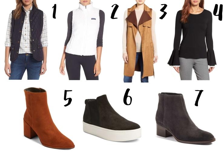 vest & boot